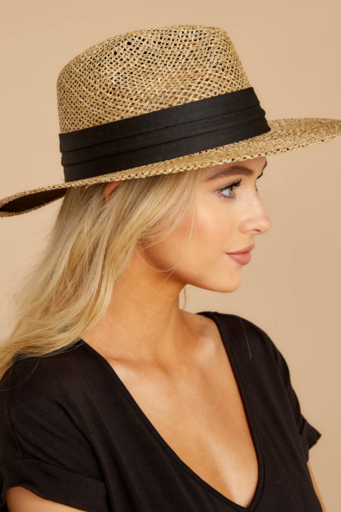 Hide And Seek Ivory Wide Brimmed Hat