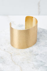Lovely Luxury Gold Cuff Bracelet