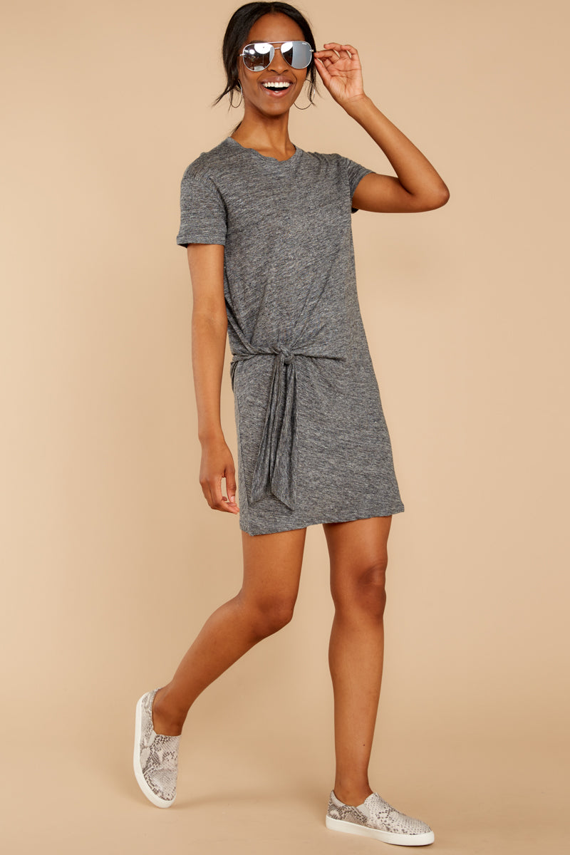 Ambition of Comfort Charcoal Dress