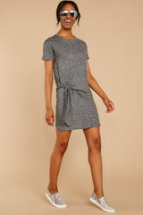 2 Ambition of Comfort Charcoal Dress at reddressboutique.com
