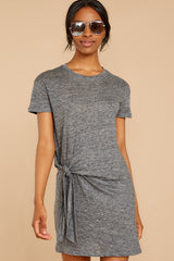 4 Ambition of Comfort Charcoal Dress at reddressboutique.com