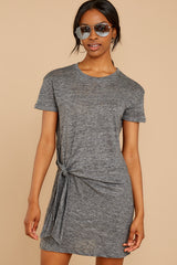 5 Ambition of Comfort Charcoal Dress at reddressboutique.com