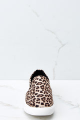 2 Follow The Beat Leopard Print Slip On Sneakers at reddressboutique.com