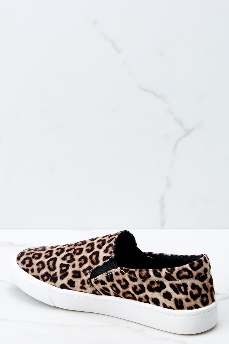 3 Follow The Beat Leopard Print Slip On Sneakers at reddressboutique.com