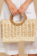 1 Saved For Later Tan Bag at reddressboutique.com