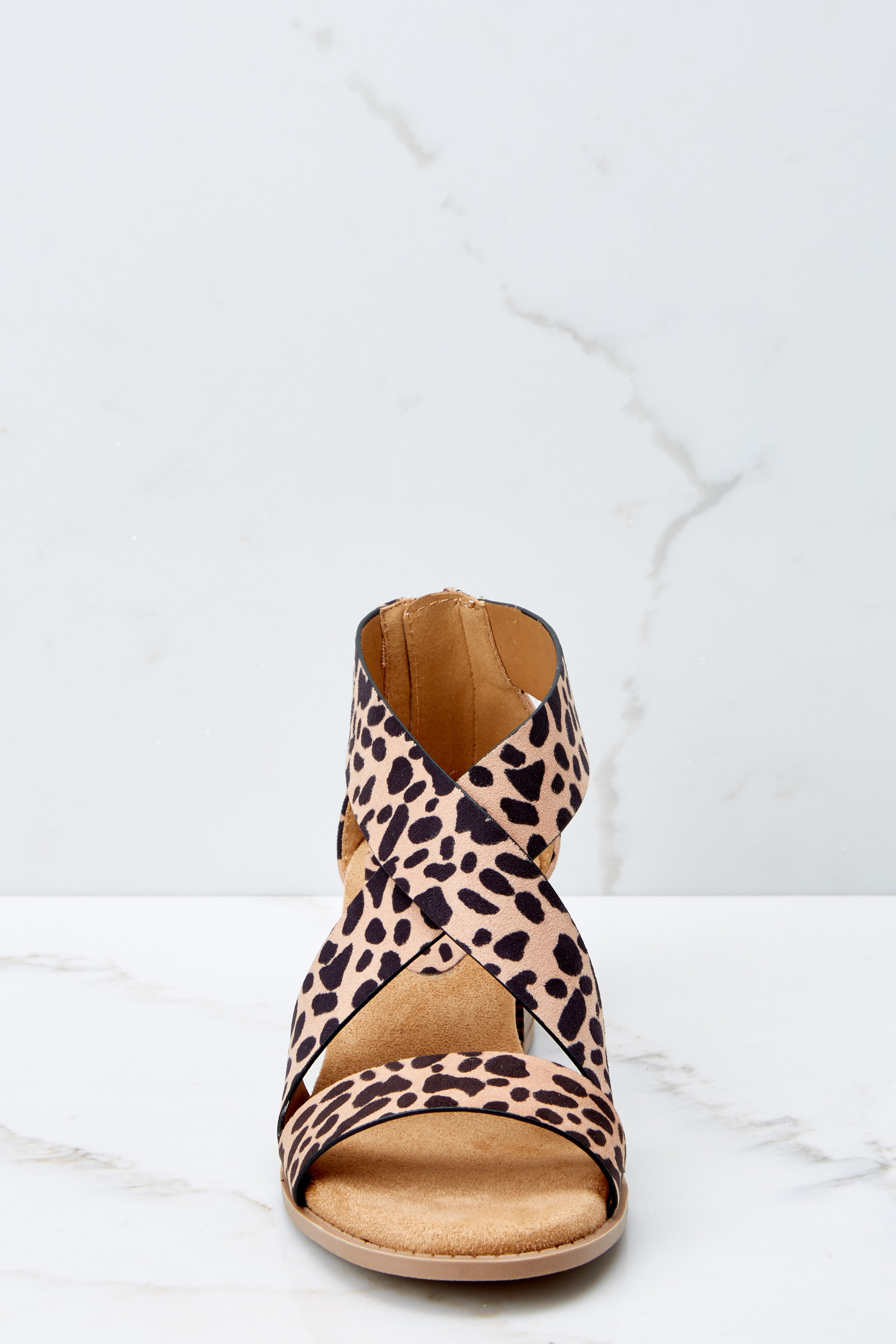 2 Don't Need Permission Cheetah Print Ankle Strap Heels at reddressboutique.com