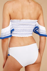 2 Caribbean State Of Mind Royal Blue Bikini Bottoms at reddress.com