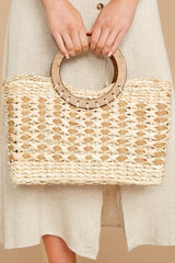2 Saved For Later Tan Bag at reddressboutique.com