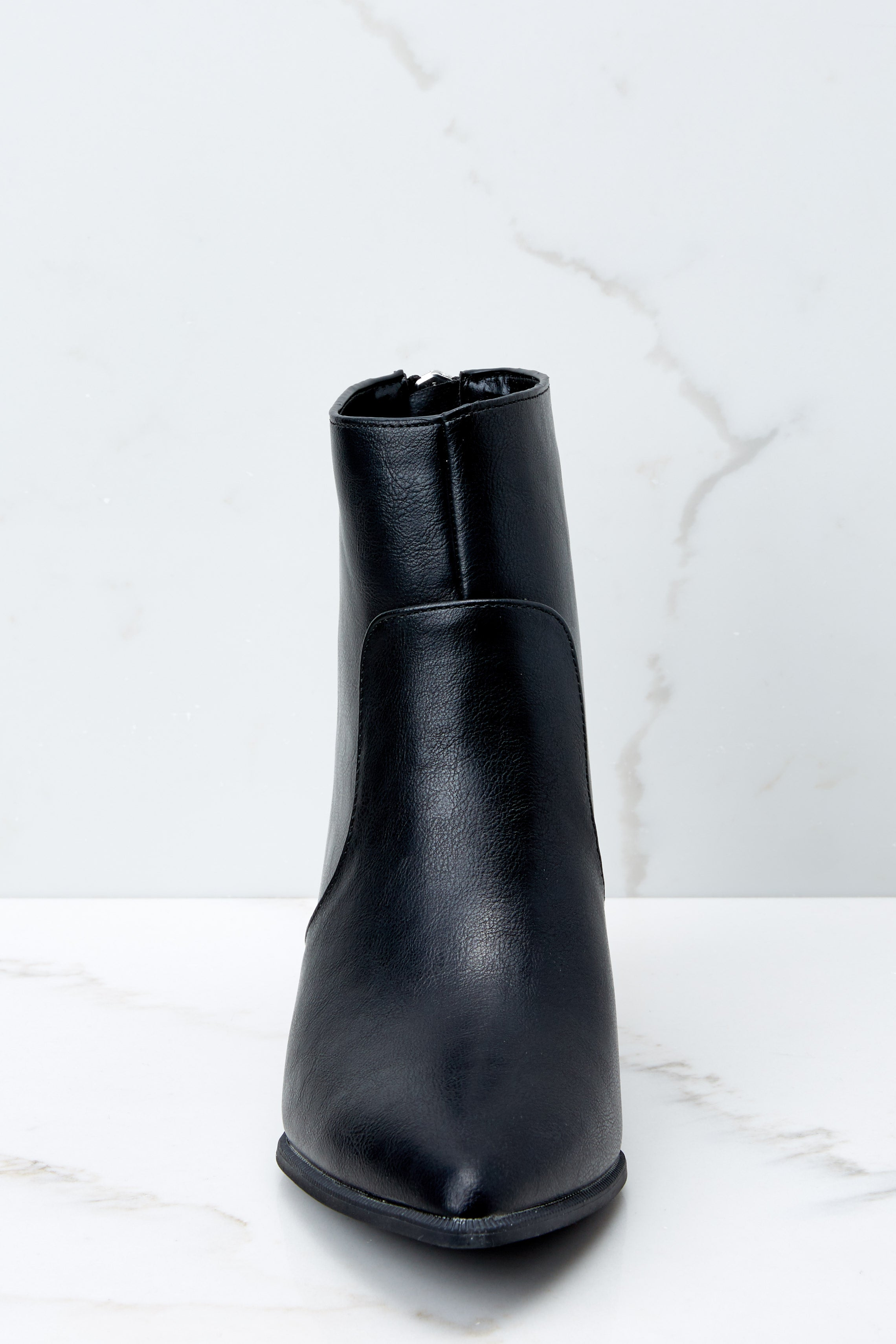 3 Hard To Miss Black Boots at reddressboutique.com