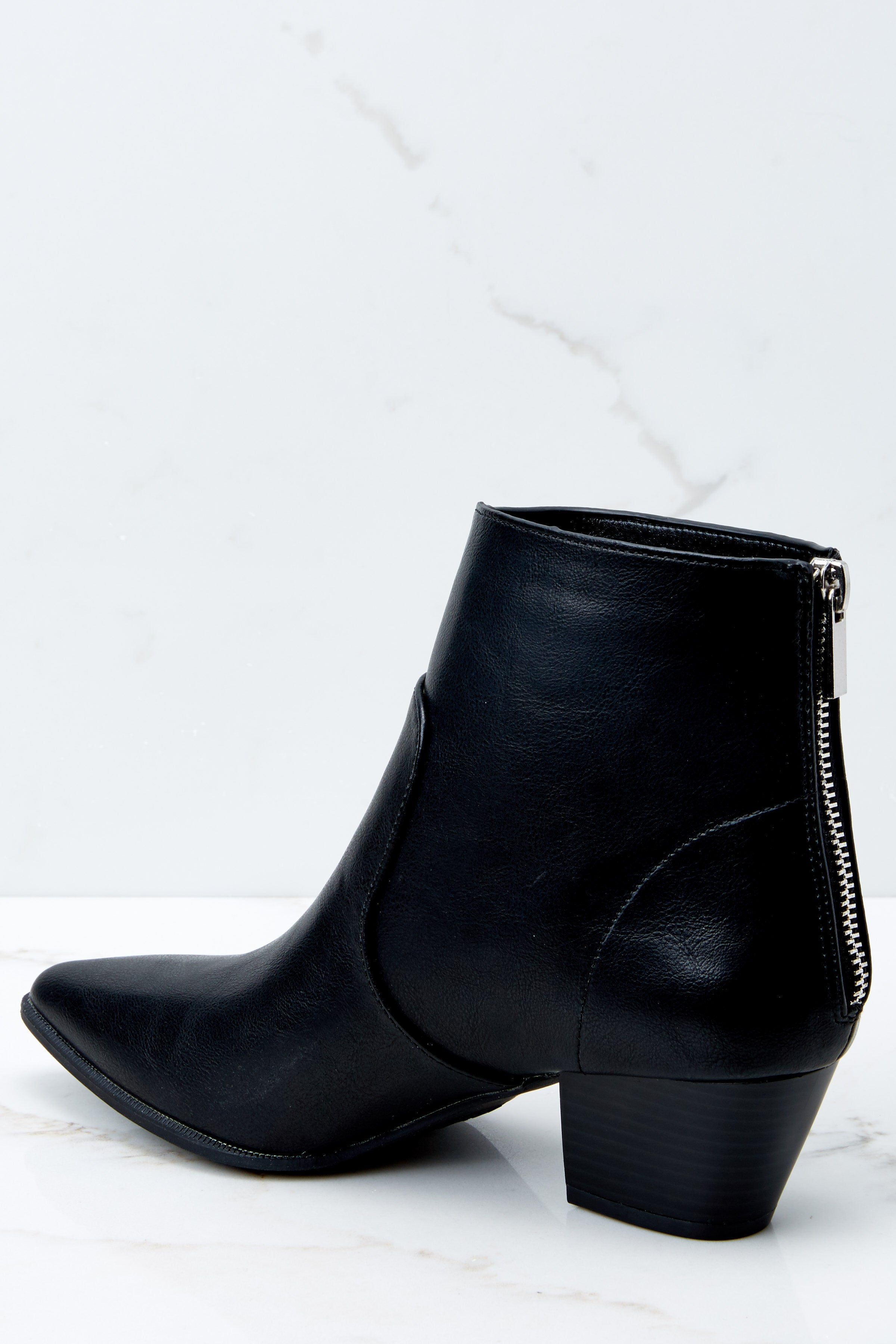 4 Hard To Miss Black Boots at reddressboutique.com