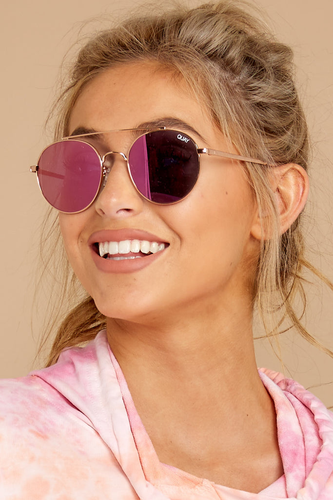 2 Jezabell Rose Purple Sunglasses at reddressboutique.com