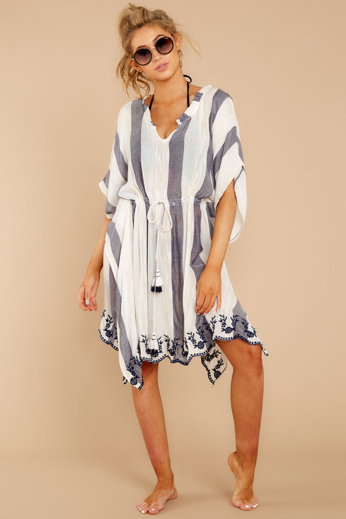 fb537db5f6277 Before Sunset Navy Stripe Cover Up