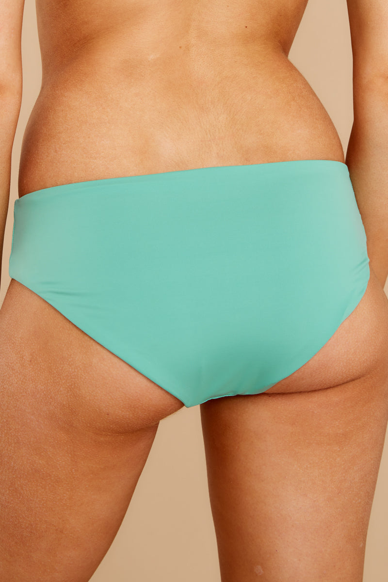 Ocean Ties Spearmint Bikini Bottoms