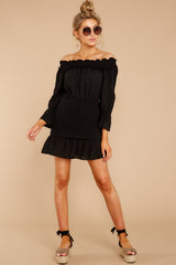 2 To A Close Black Dress at reddress.com