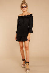 3 To A Close Black Dress at reddress.com