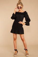 4 To A Close Black Dress at reddress.com