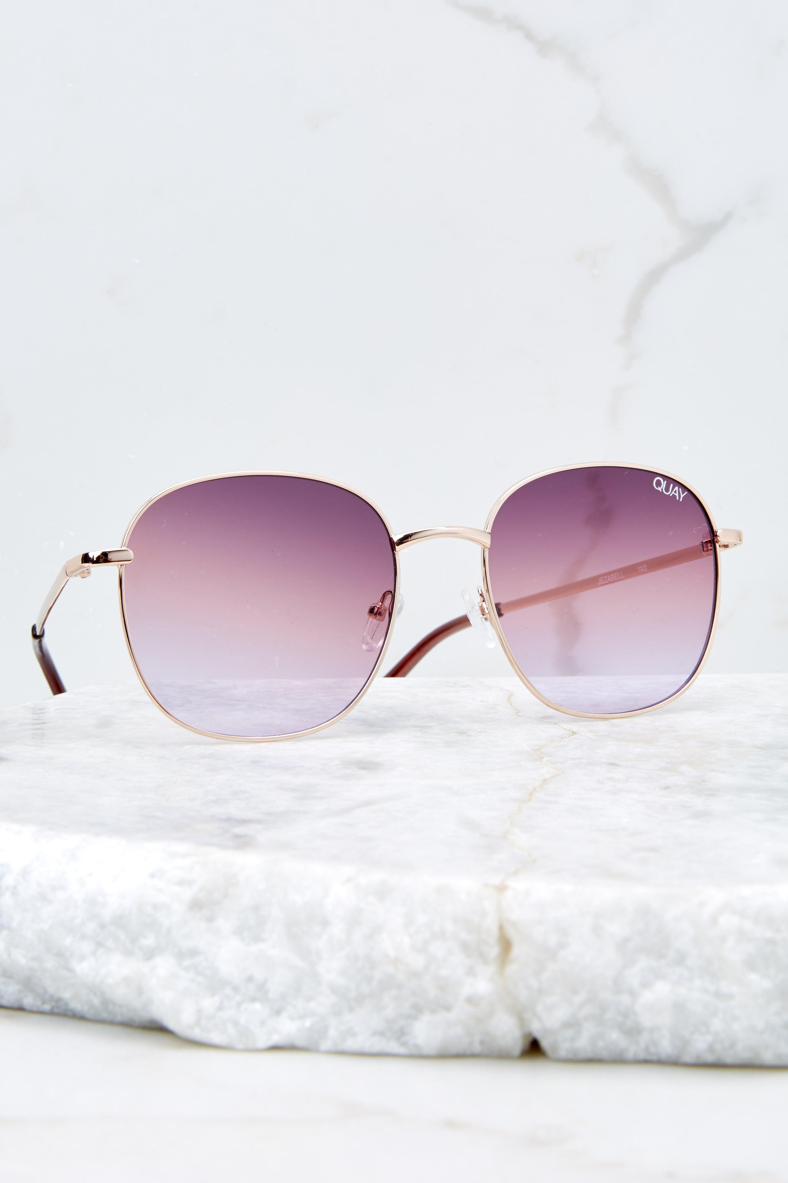 Jezabell Rose Purple Sunglasses