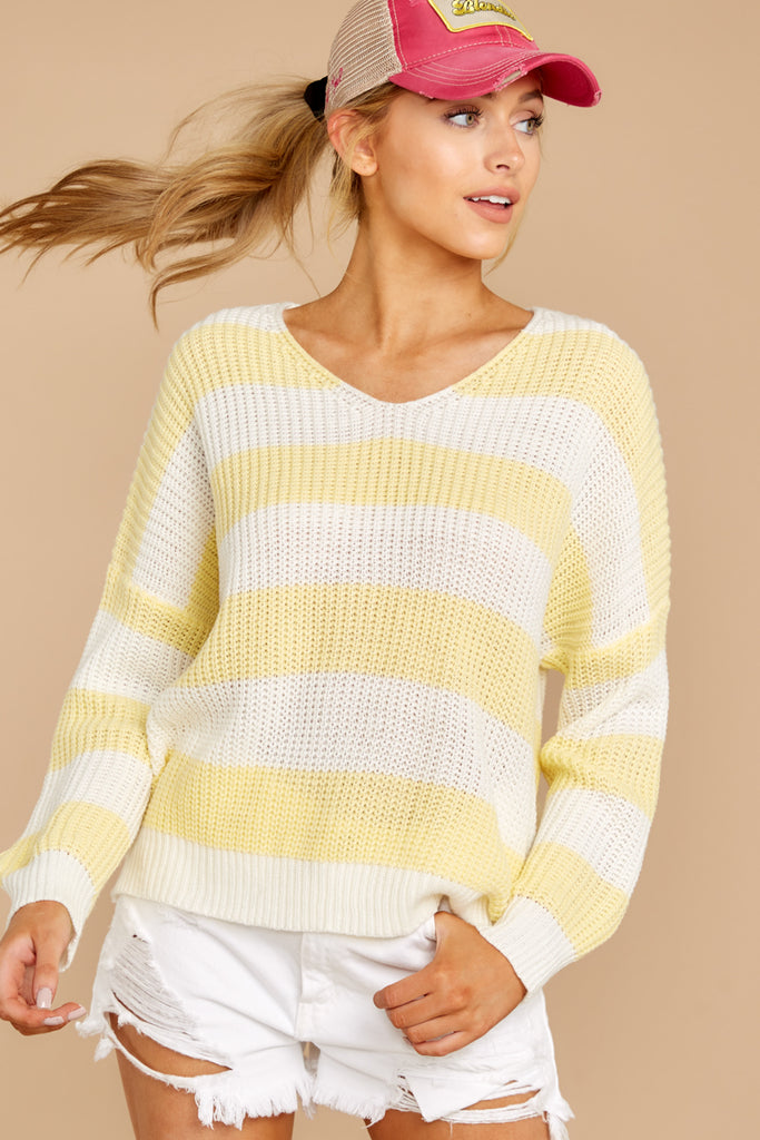 3 Good Together Ivory Sweater at reddressboutique.com