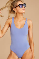7 Feeling Salty Lilac One Piece Swimsuit at reddress.com