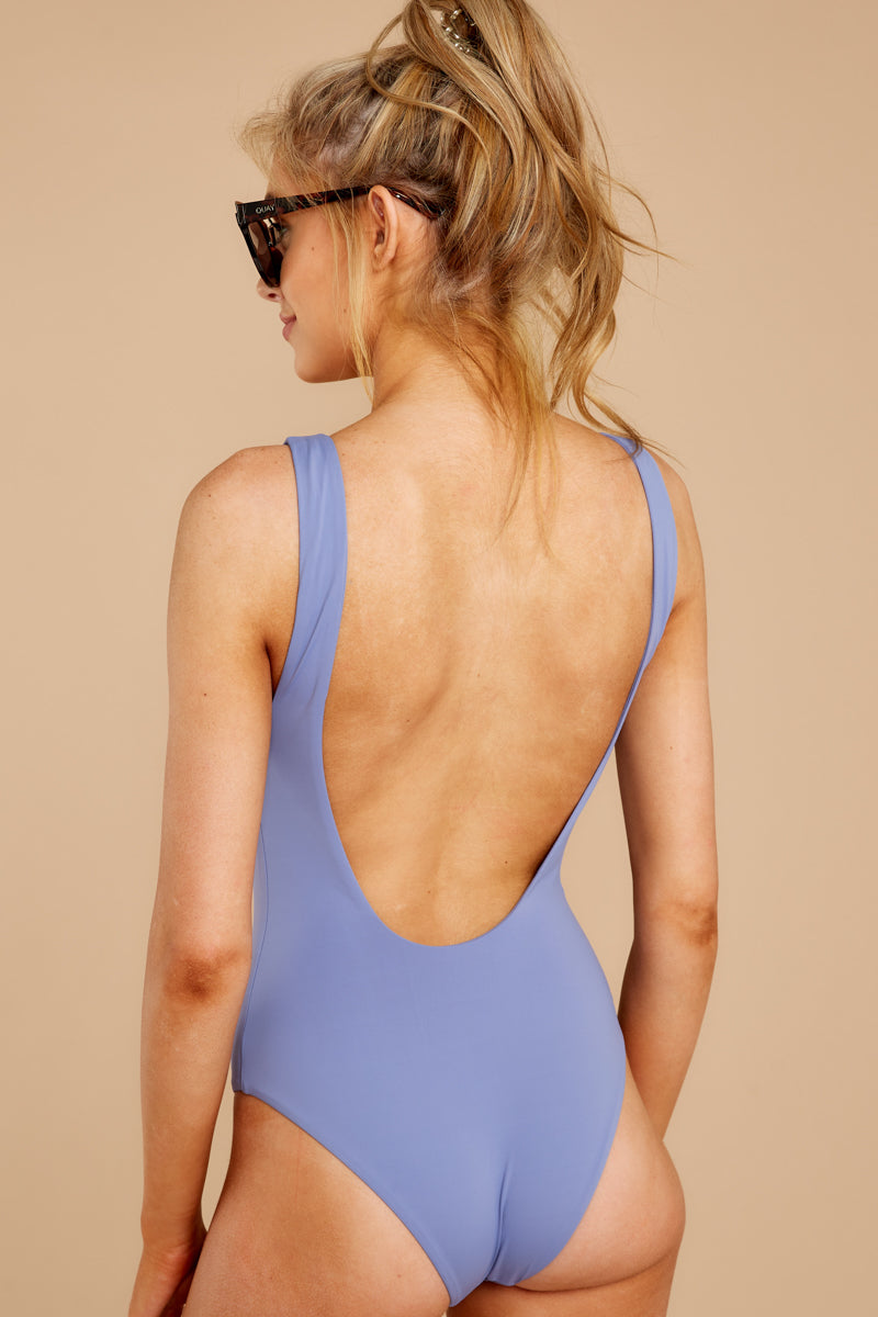 Feeling Salty Lilac One Piece