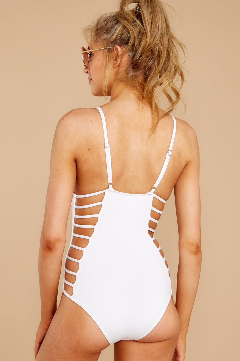 Kissed By Sunshine White One Piece