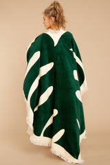 2 All Around Giant Towel In Monstera at reddressboutique.com