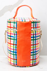 3 Super Chill Convertible Cooler Bag In Block Party at reddressboutique.com