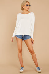 2 Take The Long Road White Top at reddressboutique.com