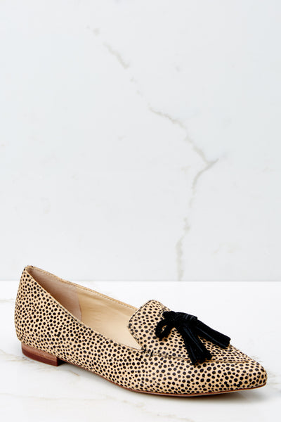 52e93eb9f6967 1 Hadlee Tassel Loafer In Dotted Haircalf at reddressboutique.com