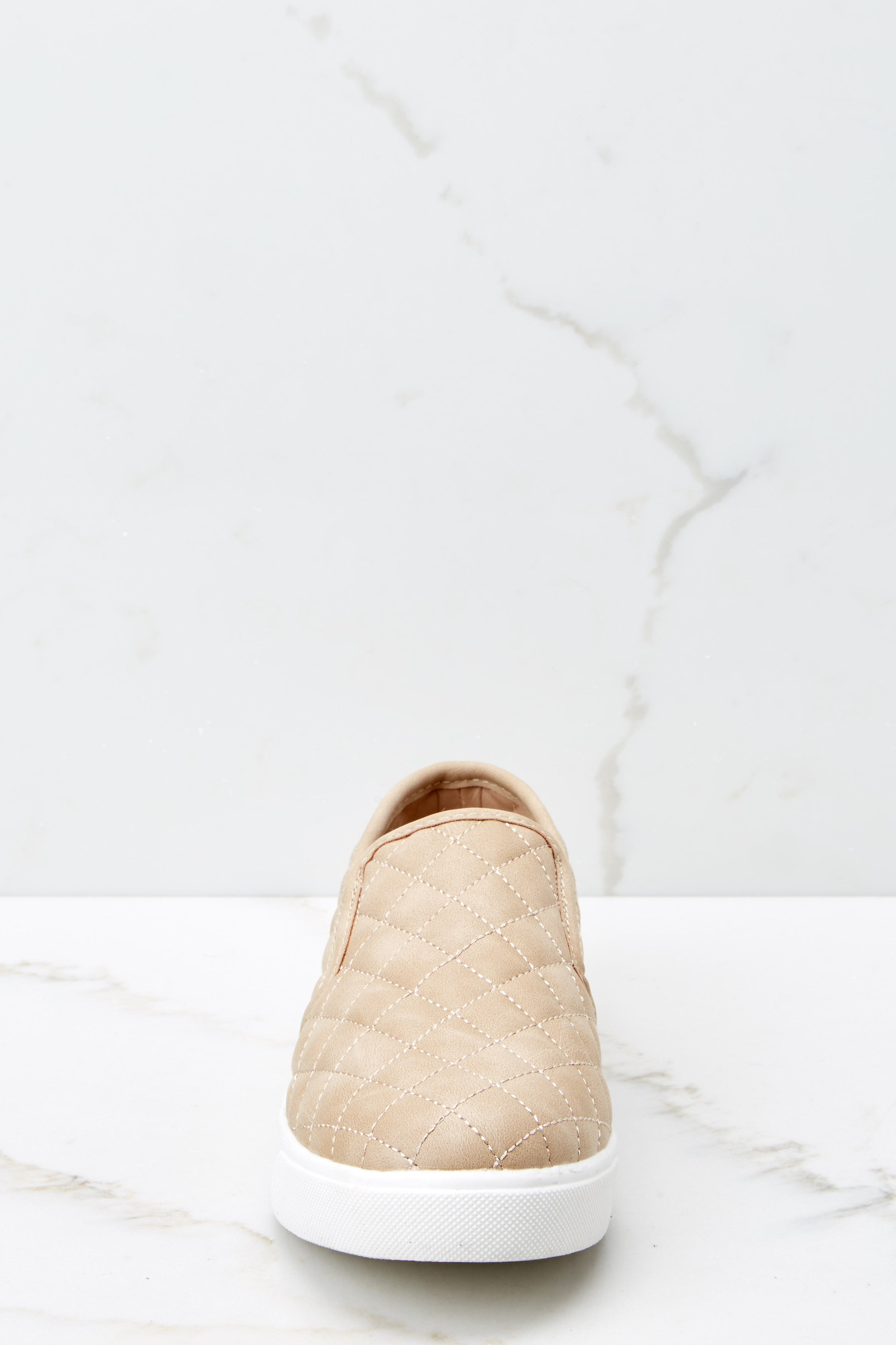 2 Passing Expectations Beige Slip On Sneakers at reddressboutique.com
