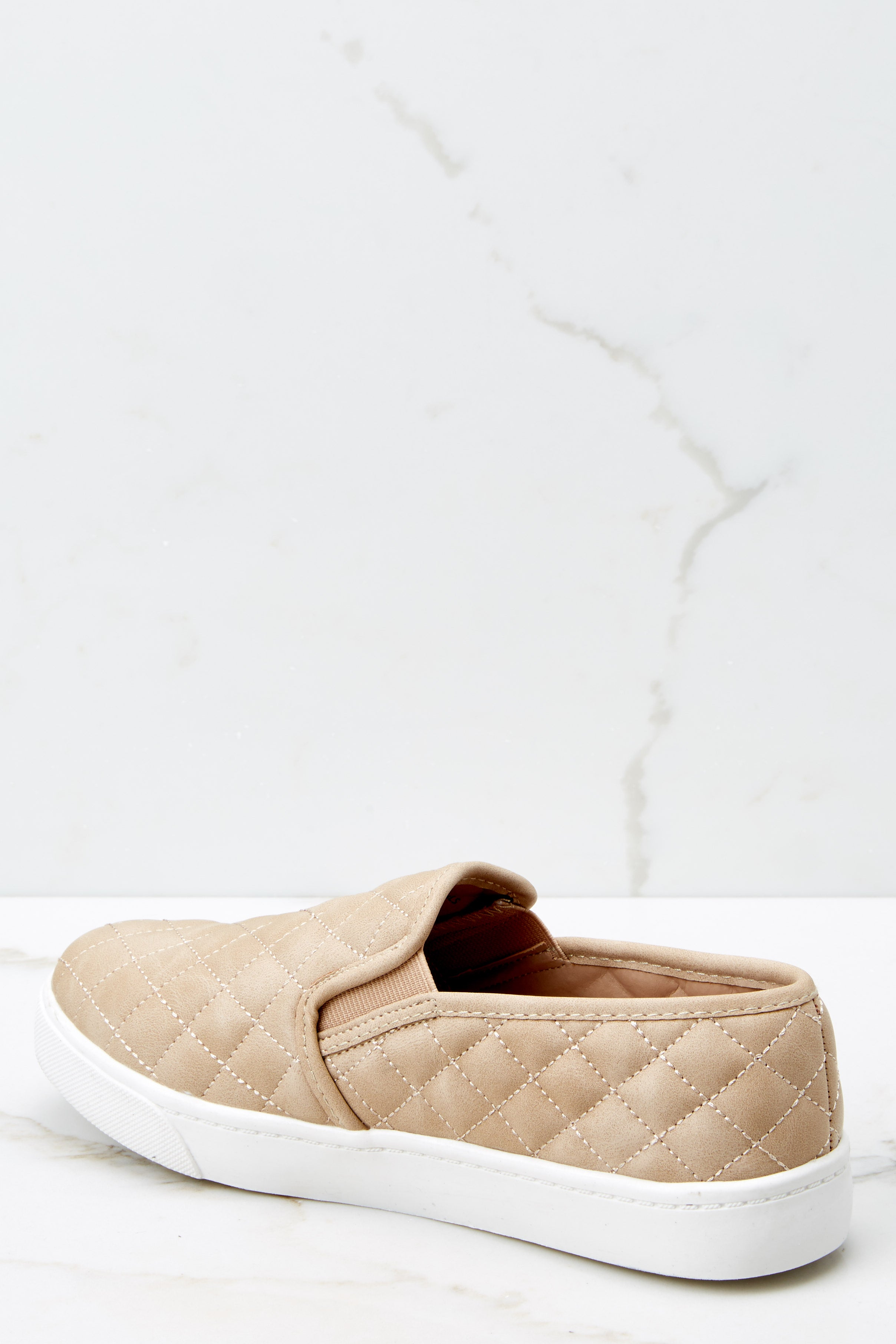 3 Passing Expectations Beige Slip On Sneakers at reddressboutique.com