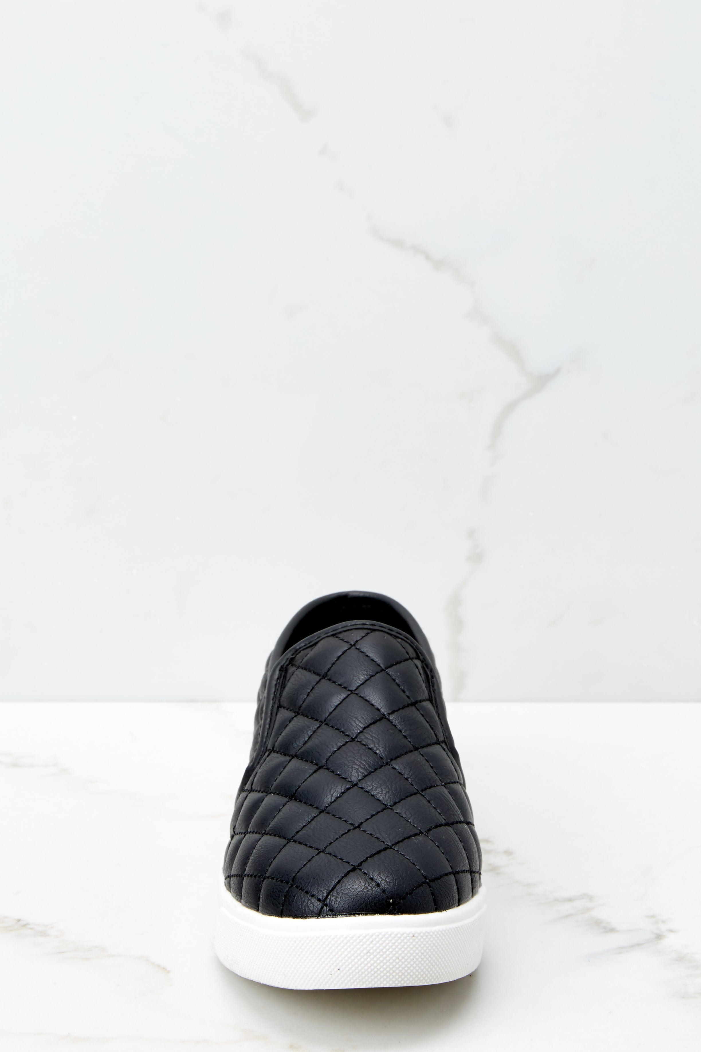 2 Passing Expectations Black Slip On Sneakers at reddressboutique.com