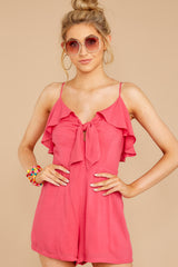 This Moment Azalea Pink Romper