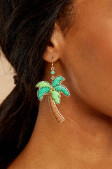 Going Coconuts Palm Tree Earrings