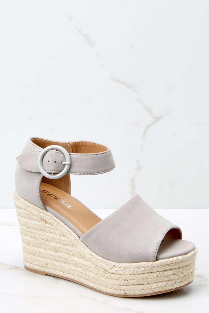 1 Take Your Step Denim Blue Flatform Sandals at reddressboutique.com