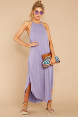 3 Close Your Eyes Lilac Maxi Dress at reddressboutique.com