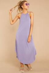 6 Close Your Eyes Lilac Maxi Dress at reddressboutique.com