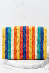 4 Still Feel It Rainbow Clutch at reddressboutique.com