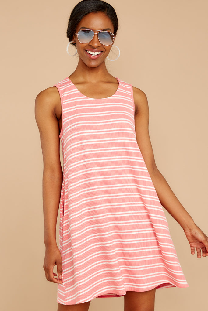 1 Nothing More Nothing Less Light Pink Dress at reddressboutique.com