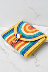 3 Still Feel It Rainbow Clutch at reddressboutique.com
