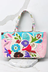 Adventurous Life Blue Multi Tote at Red Dress.com