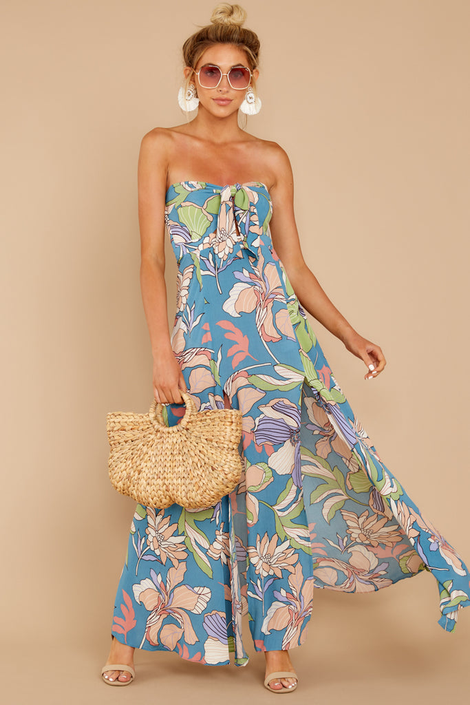 Destination Tropical Print Two Piece Set