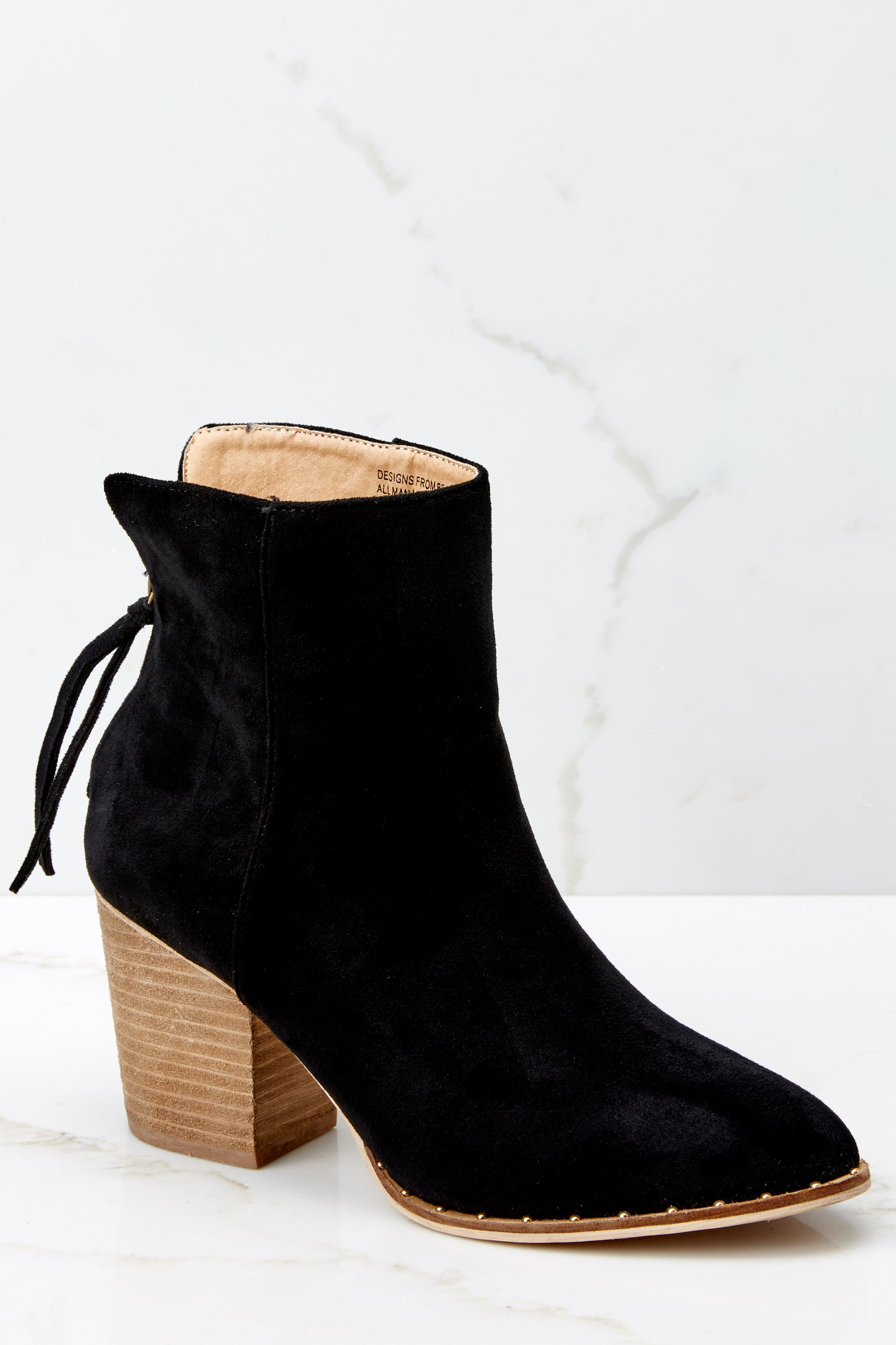 2585ecdc756 Taking These with Me Black High Heel Ankle Boots