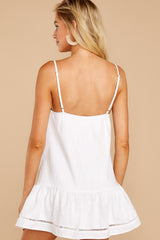 6 Making Changes White Dress at reddressboutique.com