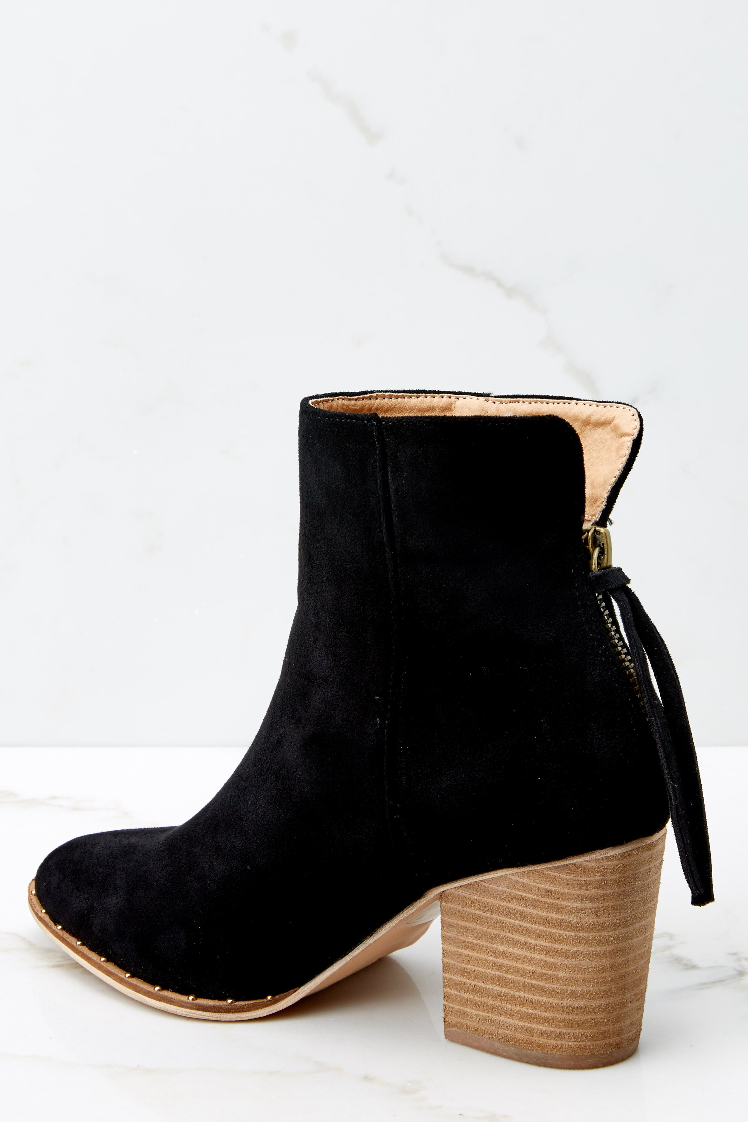 4 Taking These with Me Black High Heel Ankle Boots at reddressboutique.com