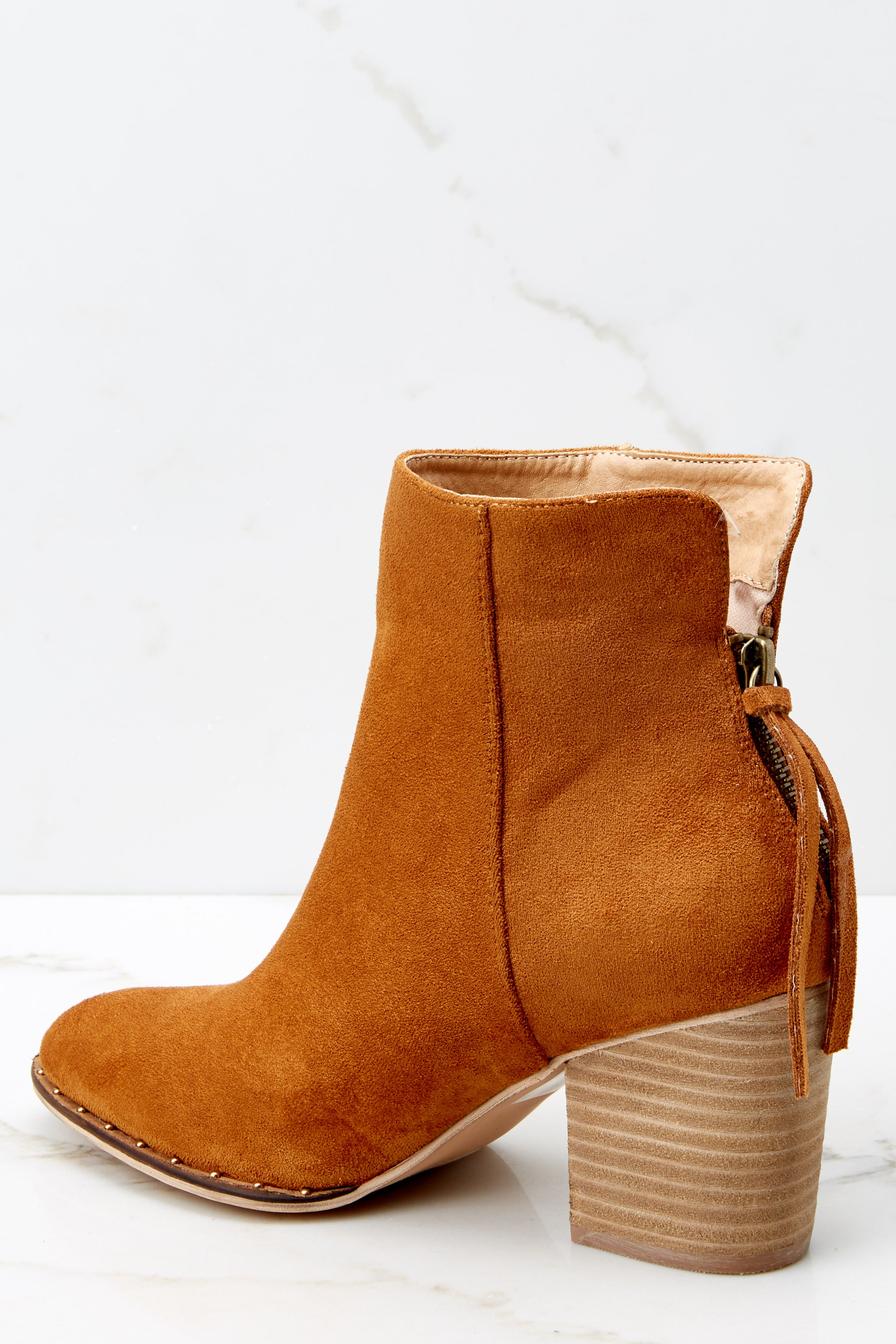 4 Taking These With Me Caramel Brown Ankle Booties at reddress.com