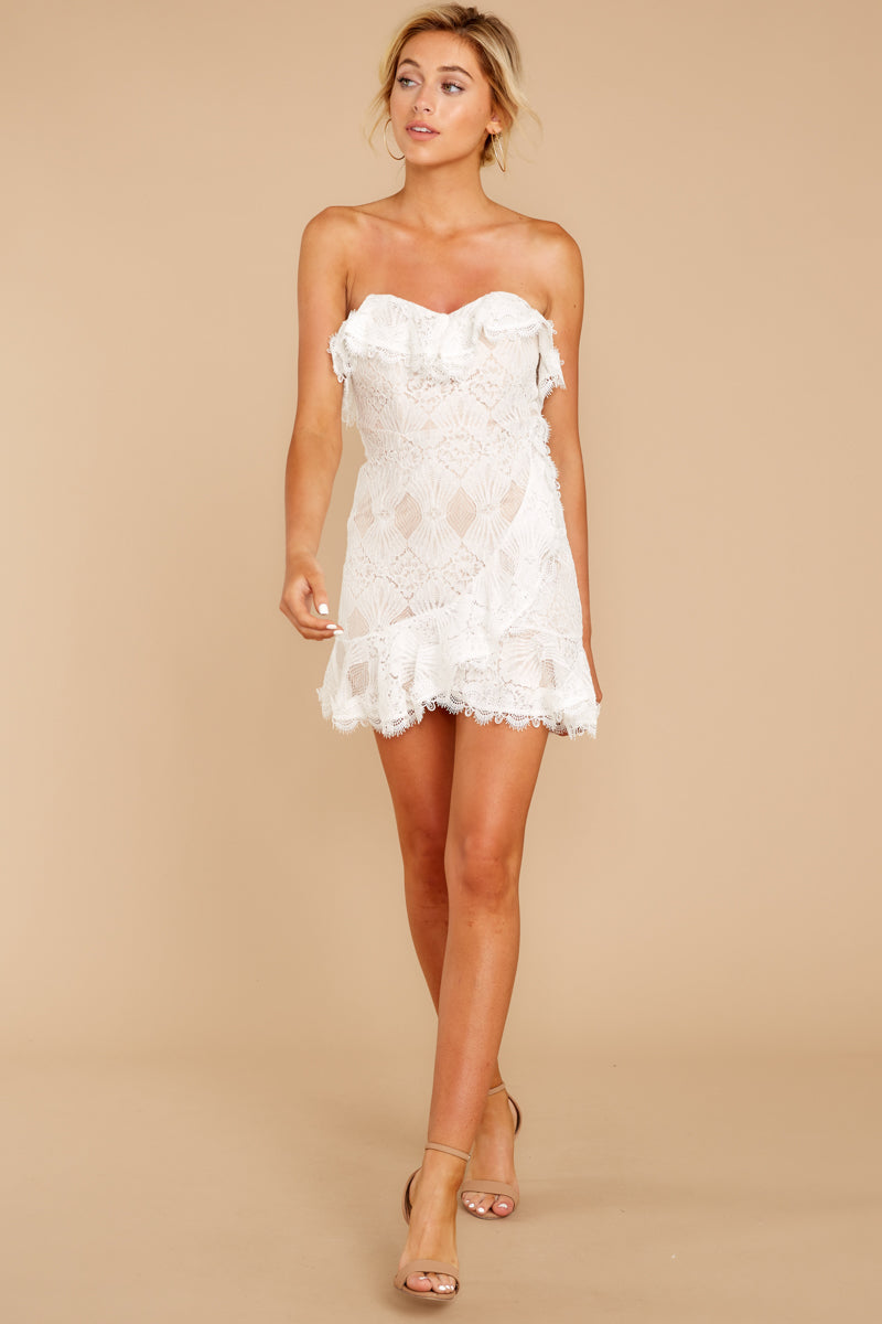 2 My Delicate Soul White Lace Dress at reddressboutique.com