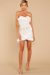 4 My Delicate Soul White Lace Dress at reddressboutique.com