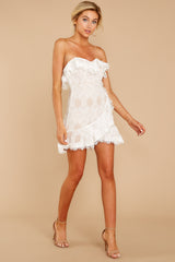 5 My Delicate Soul White Lace Dress at reddressboutique.com