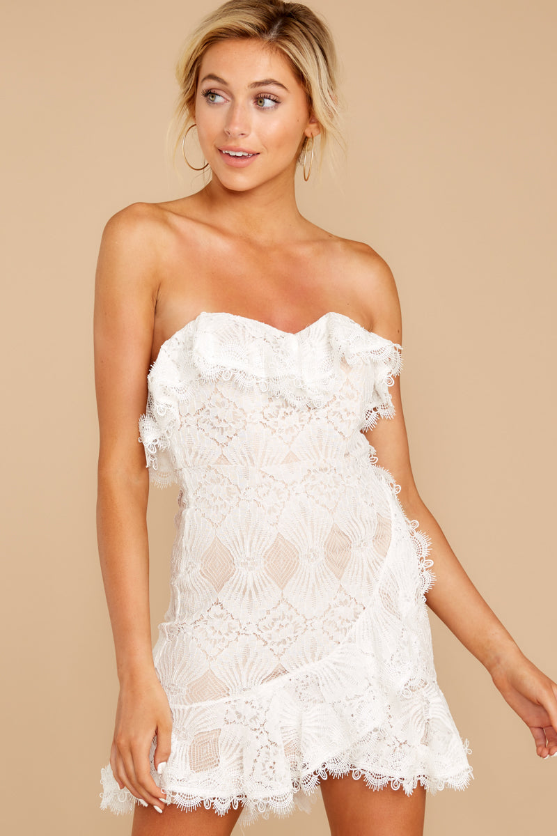 6 My Delicate Soul White Lace Dress at reddressboutique.com
